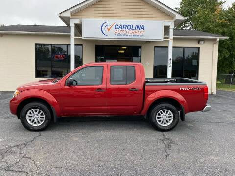 2015 Nissan Frontier for sale at Carolina Auto Credit in Youngsville NC