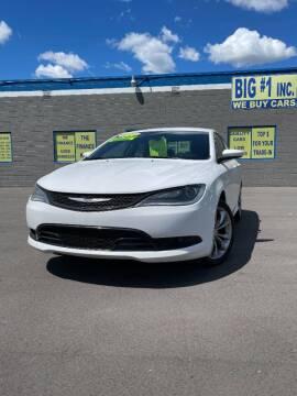 2015 Chrysler 200 for sale at BIG #1 INC in Brownstown MI