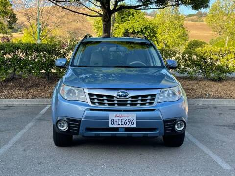 2012 Subaru Forester for sale at CARFORNIA SOLUTIONS in Hayward CA