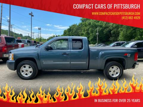 2010 Chevrolet Silverado 1500 for sale at Compact Cars of Pittsburgh in Pittsburgh PA