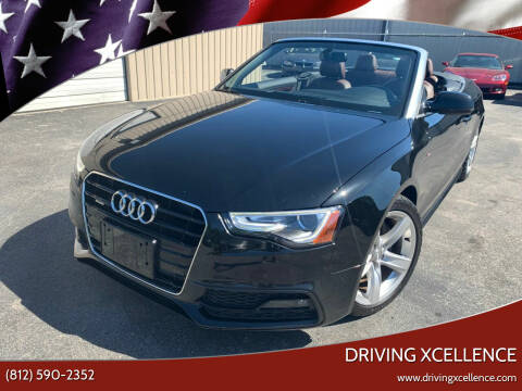 2015 Audi A5 for sale at Driving Xcellence in Jeffersonville IN