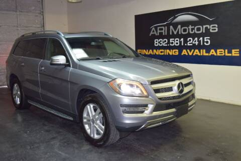 2015 Mercedes-Benz GL-Class for sale at ARI Motors in Houston TX
