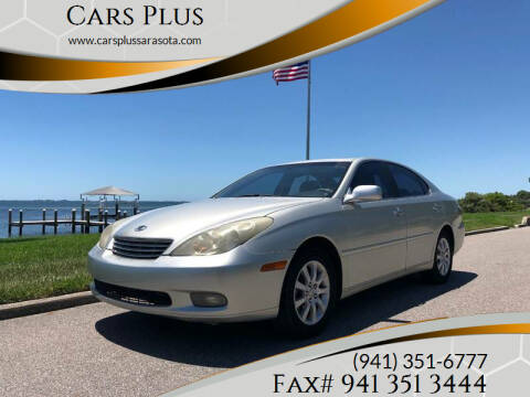 2004 Lexus ES 330 for sale at Cars Plus in Sarasota FL