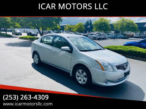 2012 Nissan Sentra for sale at ICAR MOTORS LLC in Federal Way WA