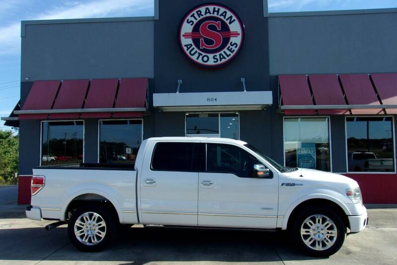2014 Ford F-150 for sale at Strahan Auto Sales Petal in Petal MS