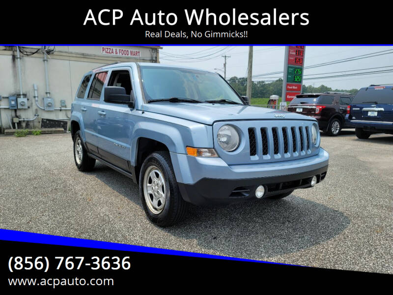 2013 Jeep Patriot for sale at ACP Auto Wholesalers in Berlin NJ
