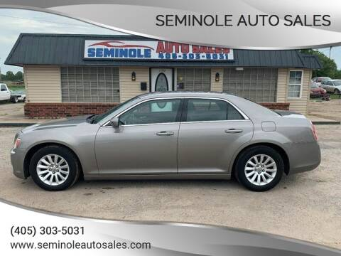 2014 Chrysler 300 for sale at Seminole Auto Sales in Seminole OK