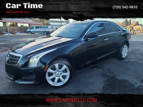 2014 Cadillac ATS for sale at Car Time in Denver CO