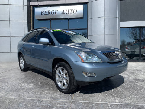 2008 Lexus RX 350 for sale at Berge Auto in Orem UT