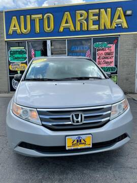 2012 Honda Odyssey for sale at Auto Arena in Fairfield OH