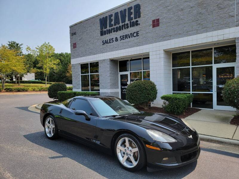 2006 Chevrolet Corvette for sale at Weaver Motorsports Inc in Cary NC