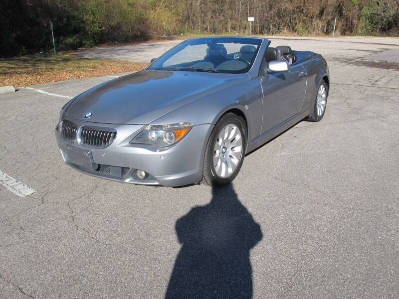 2005 BMW 6 Series for sale at Best Import Auto Sales Inc. in Raleigh NC