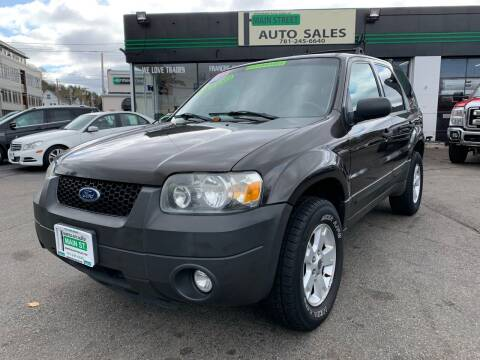2007 Ford Escape for sale at Wakefield Auto Sales of Main Street Inc. in Wakefield MA