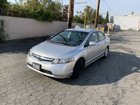 2008 Honda Civic for sale at Hunter's Auto Inc in North Hollywood CA