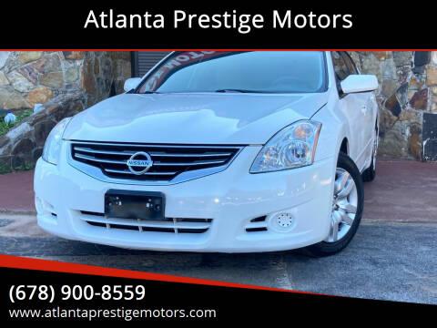 2010 Nissan Altima for sale at Atlanta Prestige Motors in Decatur GA