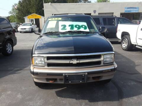 1997 Chevrolet Blazer for sale at Dun Rite Car Sales in Downingtown PA