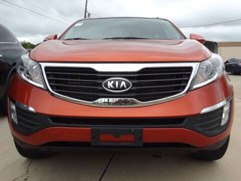 2011 Kia Sportage for sale at Auto Haus Imports in Grand Prairie TX