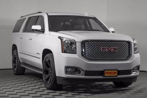 2017 GMC Yukon XL for sale at Chevrolet Buick GMC of Puyallup in Puyallup WA