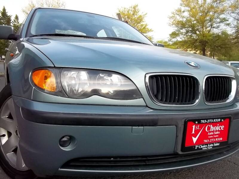 2005 BMW 3 Series for sale at 1st Choice Auto Sales in Fairfax VA