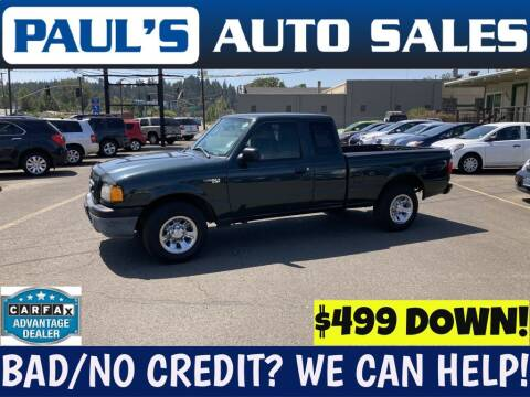 2005 Ford Ranger for sale at Paul's Auto Sales in Eugene OR