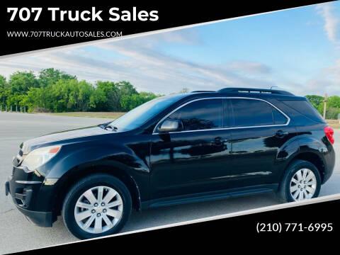 2010 Chevrolet Equinox for sale at 707 Truck Sales in San Antonio TX