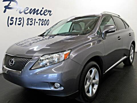 2012 Lexus RX 350 for sale at Premier Automotive Group in Milford OH