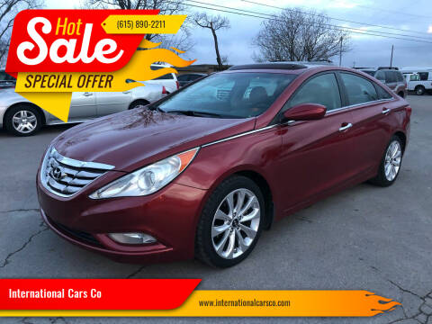 2012 Hyundai Sonata for sale at International Cars Co in Murfreesboro TN
