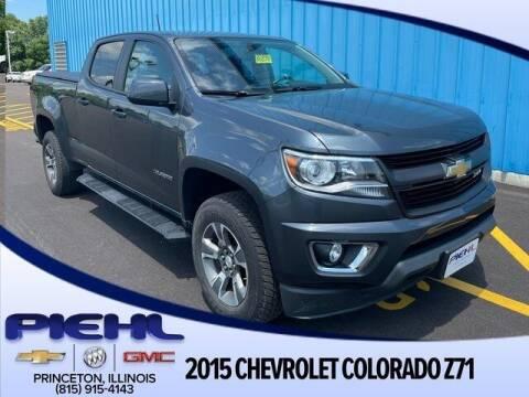 2015 Chevrolet Colorado for sale at Piehl Motors - PIEHL Chevrolet Buick Cadillac in Princeton IL
