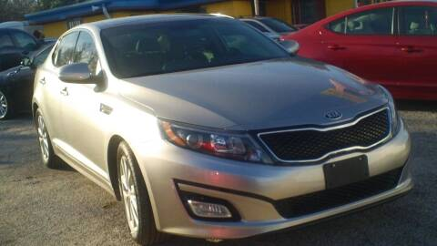 2015 Kia Optima for sale at Global Vehicles,Inc in Irving TX