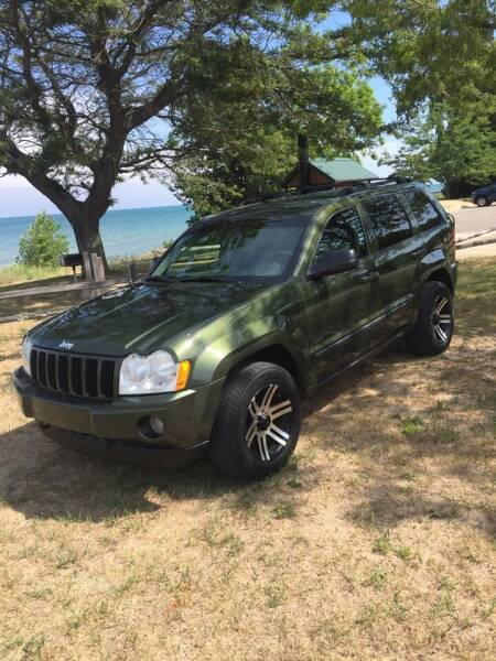 2007 Jeep Grand Cherokee for sale at Hines Auto Sales in Marlette MI