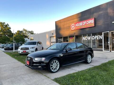 2015 Audi A4 for sale at HOUSE OF CARS CT in Meriden CT