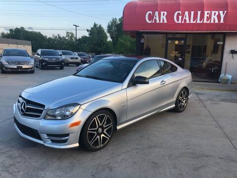 2015 Mercedes-Benz C-Class for sale at Car Gallery in Oklahoma City OK