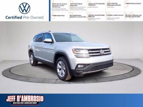 2019 Volkswagen Atlas for sale at Jeff D'Ambrosio Auto Group in Downingtown PA