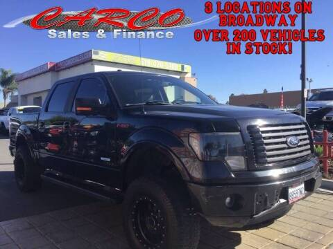 2012 Ford F-150 for sale at CARCO SALES & FINANCE in Chula Vista CA