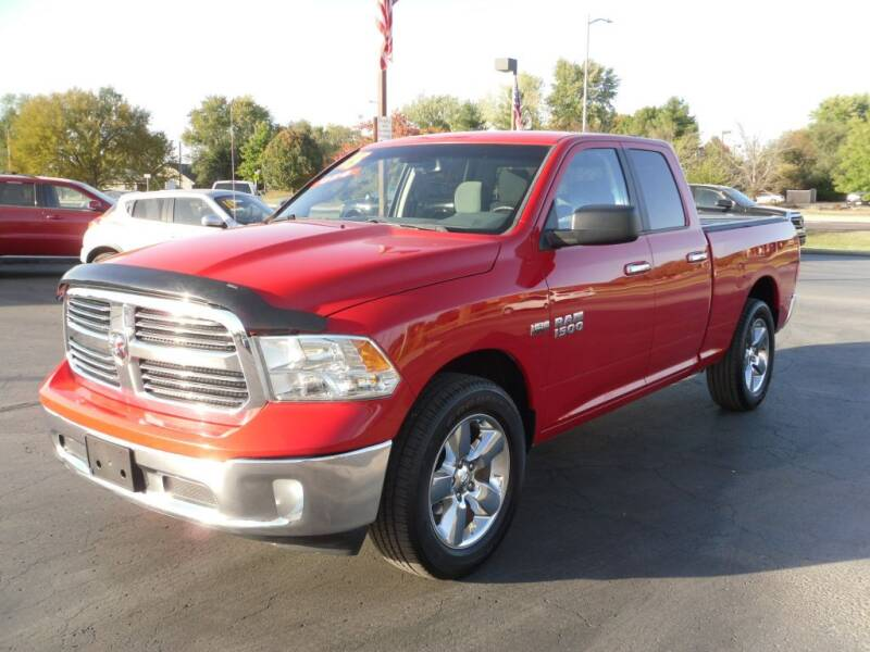 2015 RAM Ram Pickup 1500 for sale at Integrity Auto Center in Paola KS