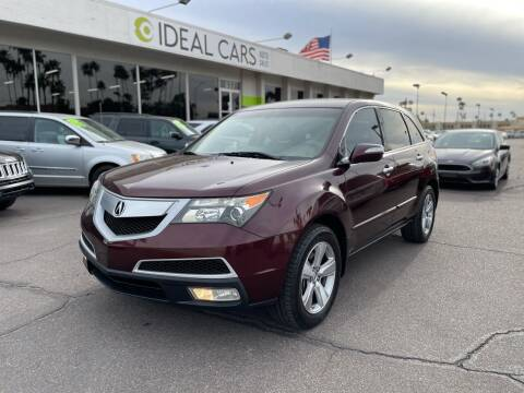 2010 Acura MDX for sale at Ideal Cars Broadway in Mesa AZ