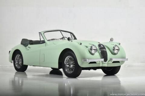 1954 Jaguar XK120 for sale at Motorcar Classics in Farmingdale NY