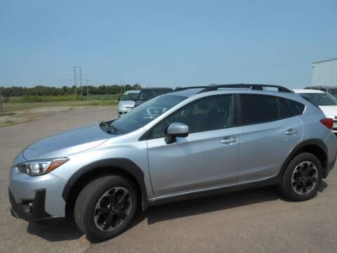 2021 Subaru Crosstrek for sale at Salmon Automotive Inc. in Tracy MN