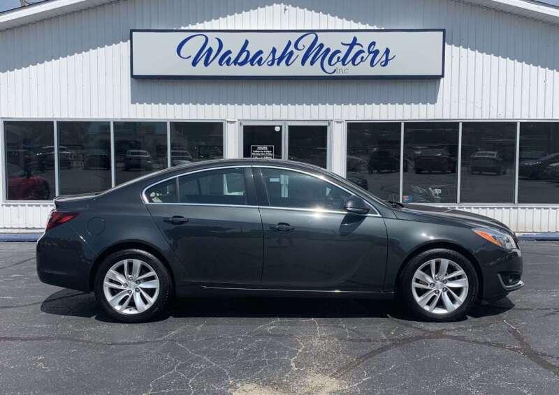 2016 Buick Regal for sale at Wabash Motors in Terre Haute IN