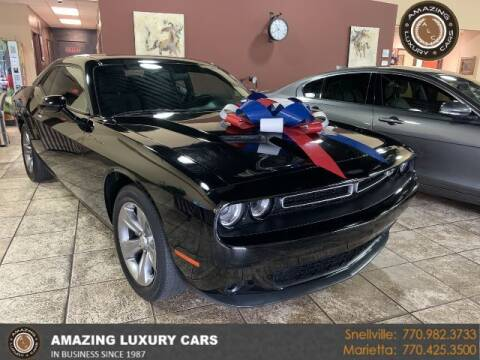 2016 Dodge Challenger for sale at Amazing Luxury Cars in Snellville GA