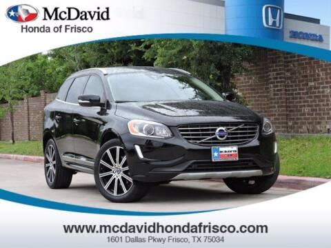 2017 Volvo XC60 for sale at DAVID McDAVID HONDA OF IRVING in Irving TX