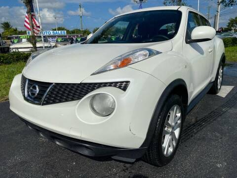 2014 Nissan JUKE for sale at KD's Auto Sales in Pompano Beach FL