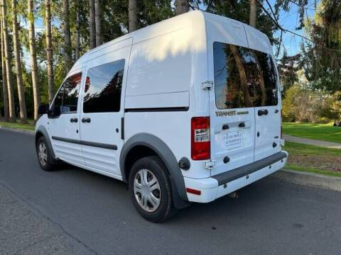 2010 Ford Transit Connect for sale at CLEAR CHOICE AUTOMOTIVE in Milwaukie OR