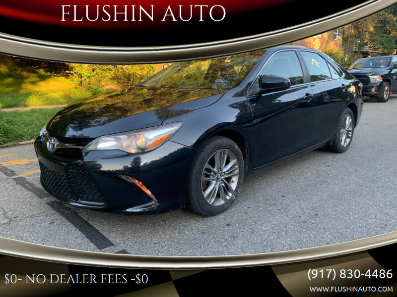 2017 Toyota Camry for sale at FLUSHIN AUTO in Flushing NY