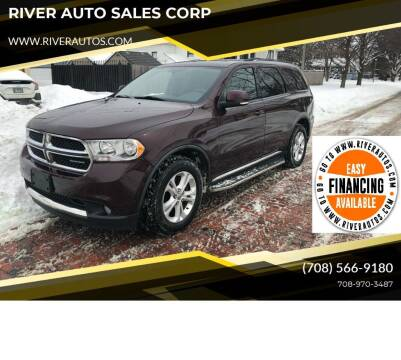 2012 Dodge Durango for sale at RIVER AUTO SALES CORP in Maywood IL