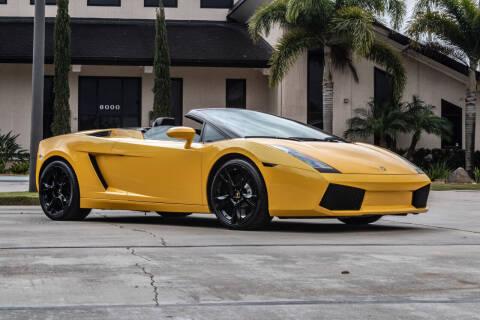 2006 Lamborghini Gallardo for sale at Exquisite Auto in Sarasota FL