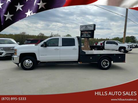 2019 Chevrolet Silverado 3500HD CC for sale at Hills Auto Sales in Salem AR