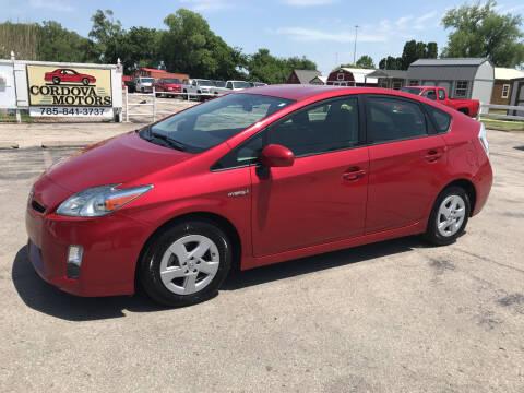 2011 Toyota Prius for sale at Cordova Motors in Lawrence KS