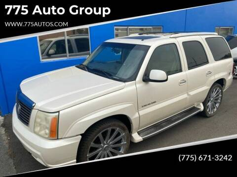 2002 Cadillac Escalade for sale at City Auto Sales in Sparks NV