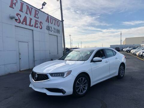 2018 Acura TLX for sale at Fine Auto Sales in Cudahy WI